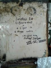 Engine Room Graffiti