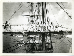 Cadets in rigging