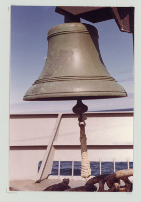 Large hanging ship bell