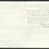 Letter to Captain Thomas Melville, Governor of Sailors' Snug Harbor, from C. [Charles] Henry King, Seamen's Retreat Hospital, March 1874