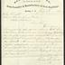 Letter to R. P. Smyth[e], Superintendent of Sailors' Snug Harbor, from Healey Iron Works, Brooklyn, New York, July 8, 1876