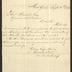 Letter to Captain Thomas Melville, Governor of Sailors' Snug Harbor, from Brooks Brothers, September 15, 1876