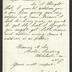 Letter to Captain Thomas Melville, Governor of Sailors' Snug Harbor, from Francis A. See, of Croton Landing, New York, March 9, 1876