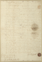 Document granting Power of Attorney for Thomas Randall to his son, Paul R. Randall