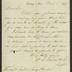 Letter to the Superintendent of Sailors' Snug Harbor [R. P. Smythe], from W. L. Faxon, MD, Superintendent, National Sailors' Home, March 1, 1878
