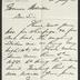 Letter to Captain Thomas Melville, Governor of Sailors' Snug Harbor, from Giraud Foster, of Richmond Talbot, Coal and Iron Exchange, New York, July 18, 1878