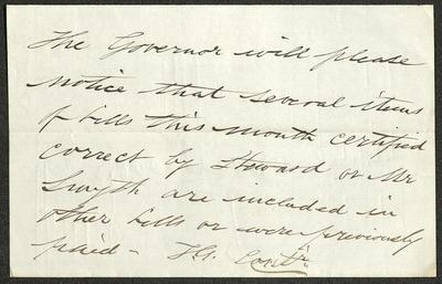 The letter is handwritten in dark brown ink on cream-colored paper. It has been folded several times.