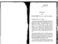 New York Nautical School Annual Report, 1879
