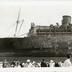 SS Morro Castle with Onlookers in Foreground