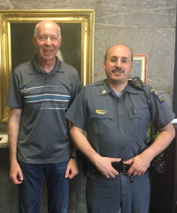 Oral History Interview with Jerry Antos and Michael Perdoncin of the University Police Department
